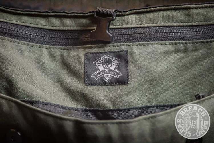 Grey Ghost Gear Canvas Messenger Bag