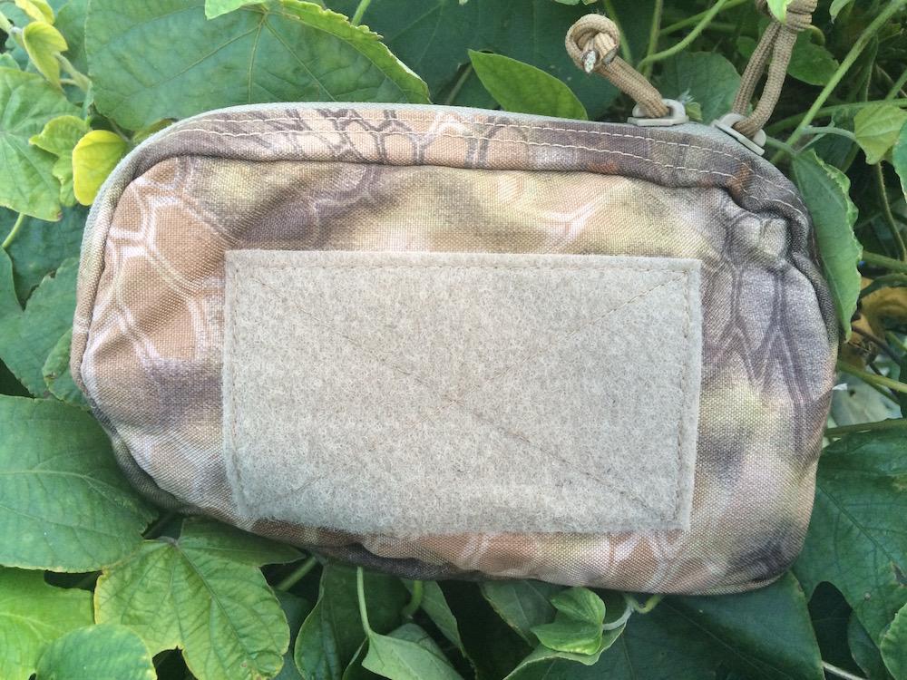 horizontal utility pouch