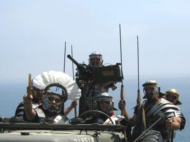 Roman Jeep Cavalry