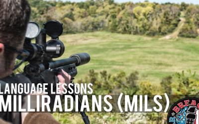 Language Lessons: Mils (Milliradians)