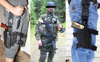 The 90s Called -They Want Their Drop Leg Holster Back