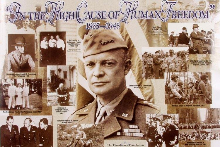 Dwight D. Eisenhower was a combat veteran before he was POTUS