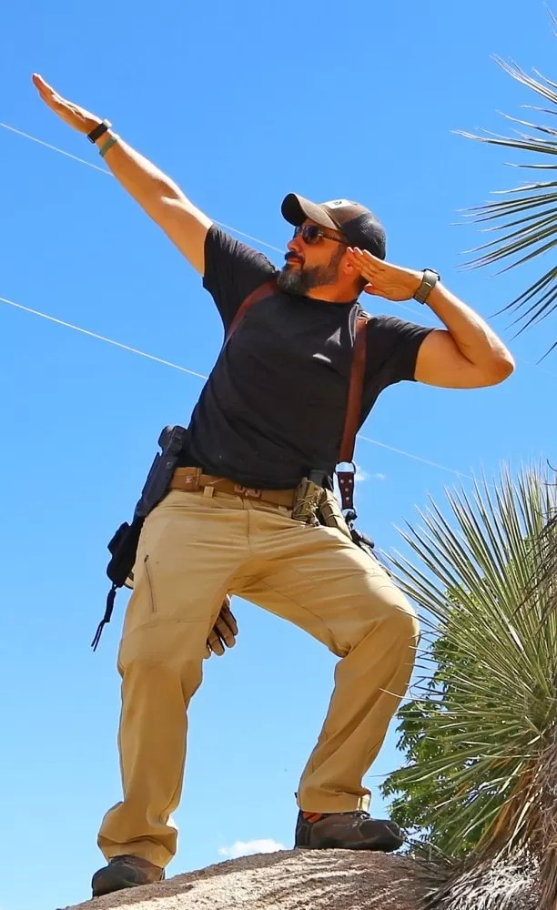 Propper tactical pants are rugged, have good range of motion, and can be worn in a business casual setting.