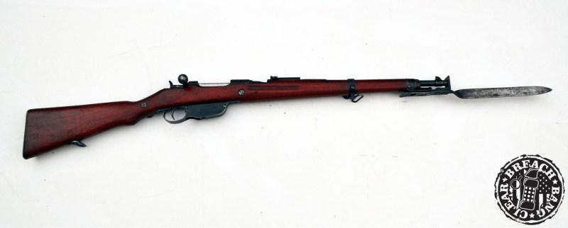 The Mannlicher M1895 was designed by Ferdinand Ritter von Mannlicher.