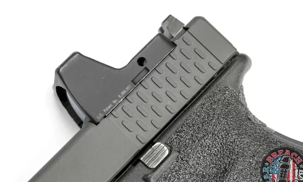 Red dot sights can be problematic, particularly pistol mounted red dots (MRDS).