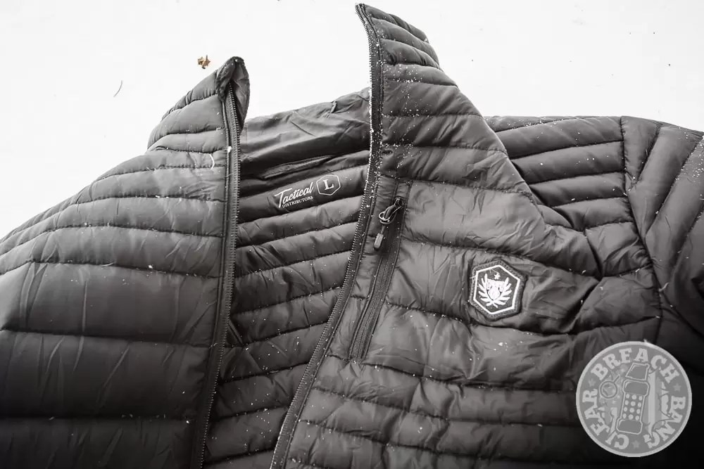 tactical down jacket