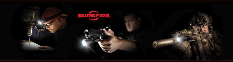 SureFire LLC lights and weapon lights.