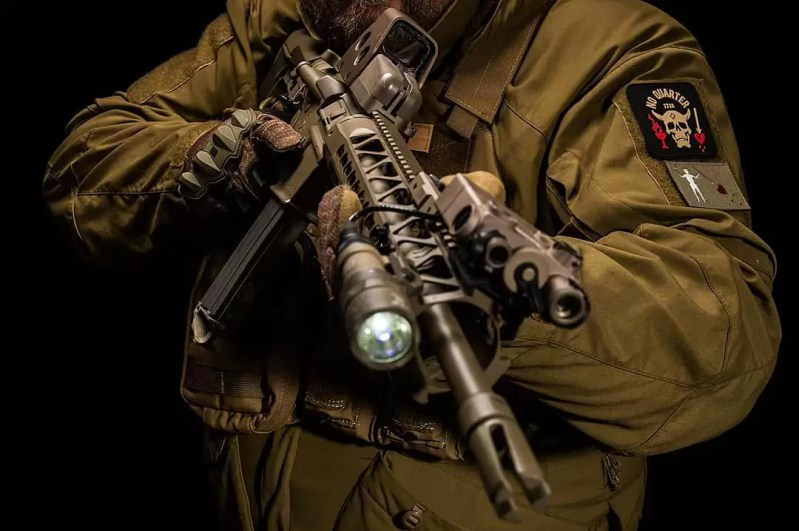 Muzzle Flash Media rifle build based on KE Arms carbine