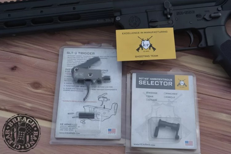 Recently I received the brand new SLT-1 (Sear Link Technology) Trigger from KE Arms, and I'm very excited to run it in my AR platform.