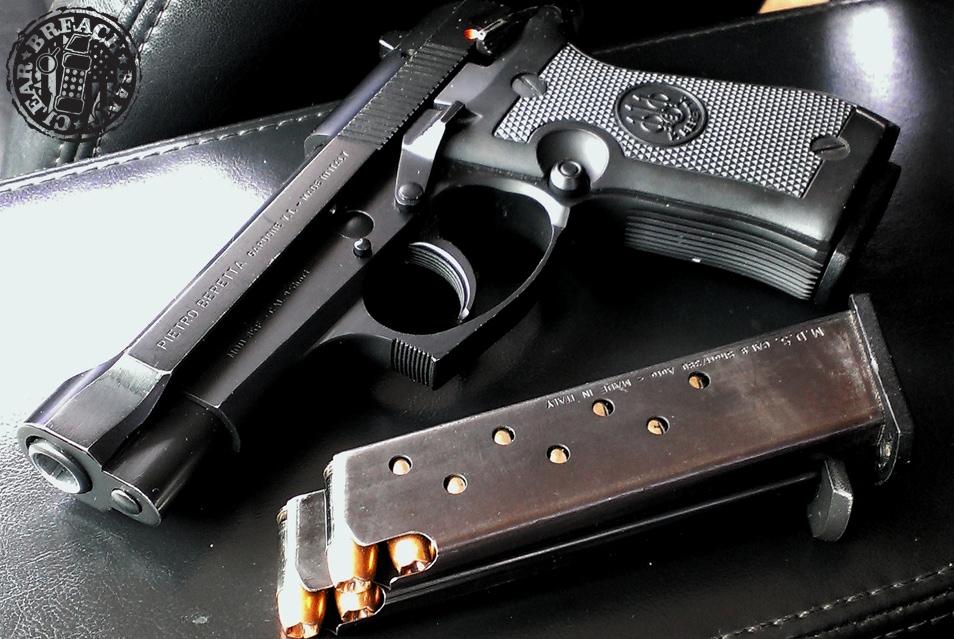 The Beretta 85F Cheetah.