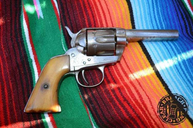 The Mexican Colt sixgun revolver