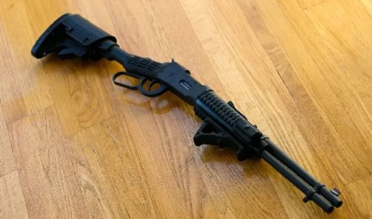 """A """"modern"""" Sagamore Hill style Theodore Roosevelt rifle."""