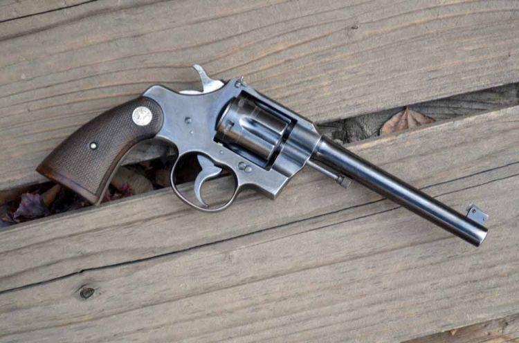 Colt, Colt revolver, revolver, revolvers, guns, Colt Officer's Model, WTW, Officer's Model