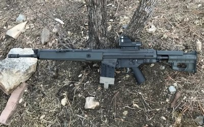 Spur AB Stock | Swedish Upgrade for the G-3 Pattern Rifle