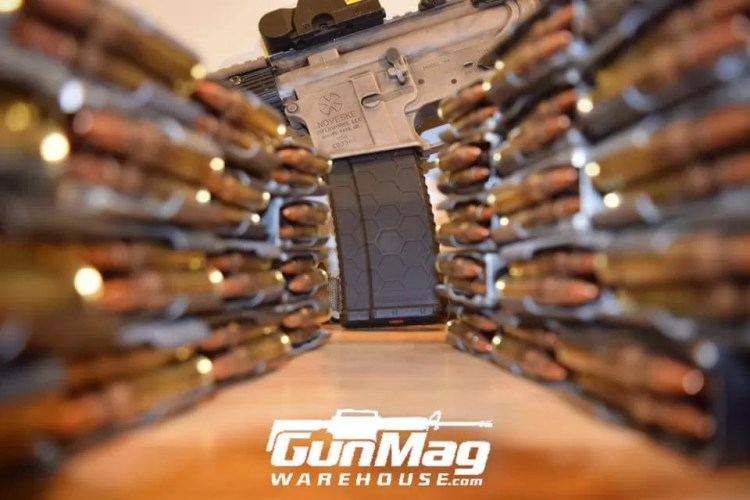 "Gunmagwarehouse carries every conceivable brand of commonly used rifle magazine, and many that aren't so readily available. Clips for sale! (Not really, read on and we'll explain ""magazine vs clipo"" for ya.)"