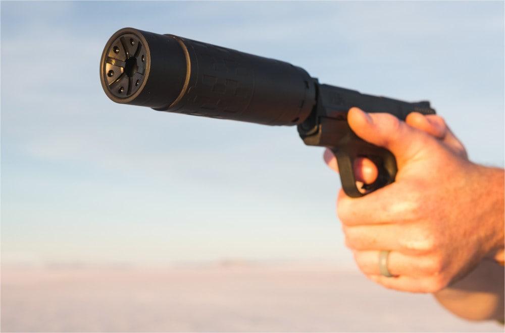 SilencerCo's modular rifle can