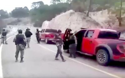 Cartel Convoy In The Open – Jalisco Show of Force