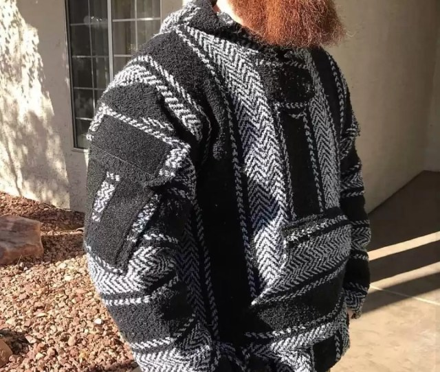 The California Combat Hoodie Aka Tactical Drug Rug Is A Jerga Baja Style Pullover