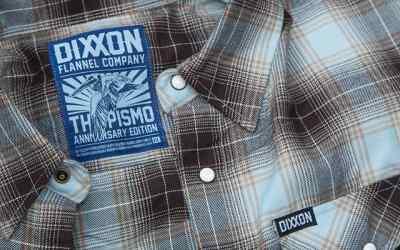 Pismo Anniversary Flannel Back In Stock   Dixxon Flannel Co.