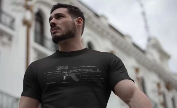 The Freedom AK shirt from MadDuoCo and Breach Bang Clear.