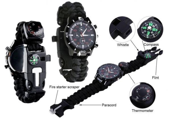 Renegade Gear Brand survival watch