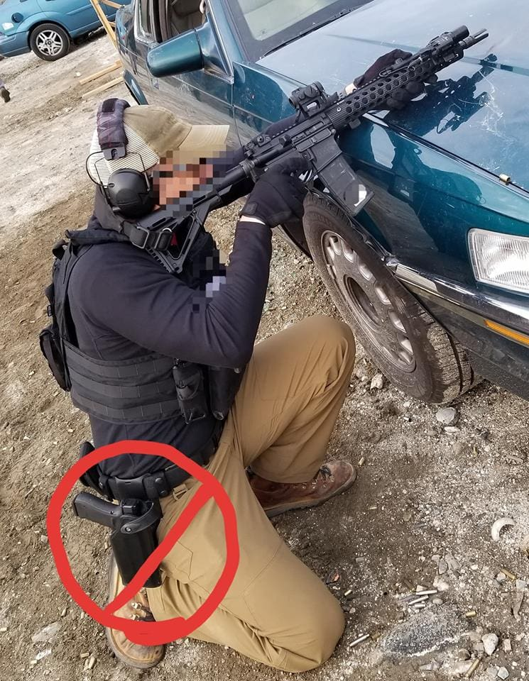 Know your gear - Talon Defense on the Safariland Holster - Chase Jenkins