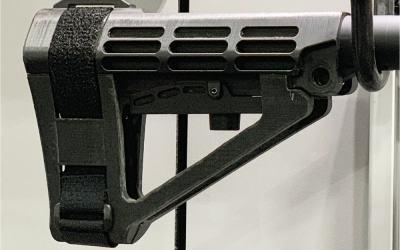 SBA4 Brace: 5-position adjustable stabilizing pistol brace