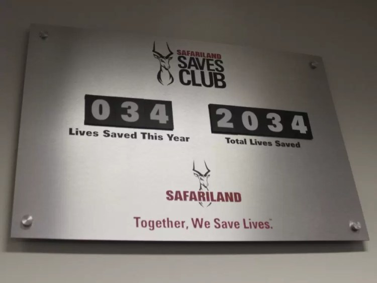 The Safariland Saves Club