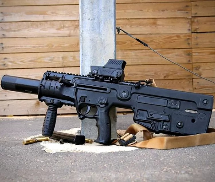 IWi Tavor X95 with accessories.