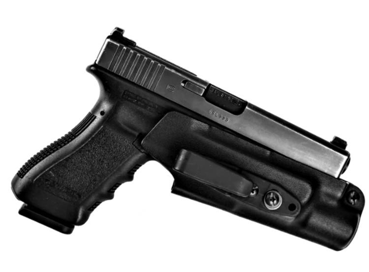 The Raven Concealment Vanguard 3 is a suppressor holster option.