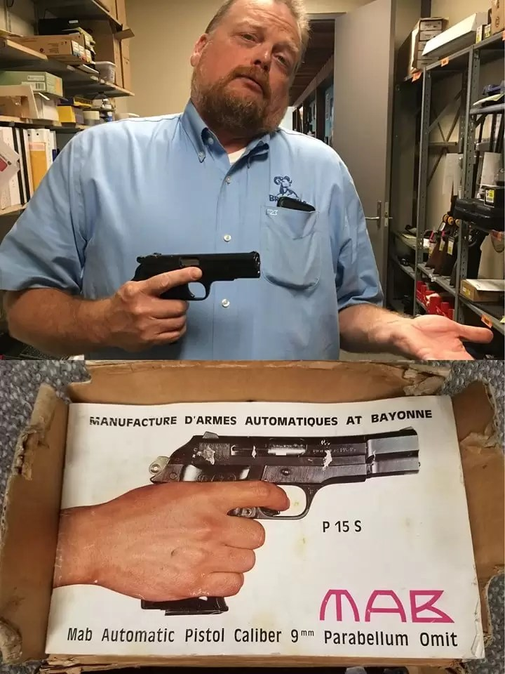 Brownells' own Roy Hill - just one small example of their superior customer service and management.