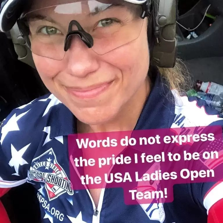 She's one of our favorite champion shooters, but we gotta say to all of them: Congratulations Team USA!