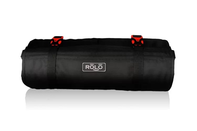 Apparel compression for travel: the Rolo travel bag.