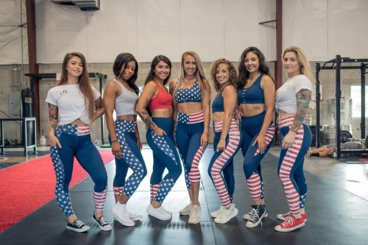 A group of badass women.