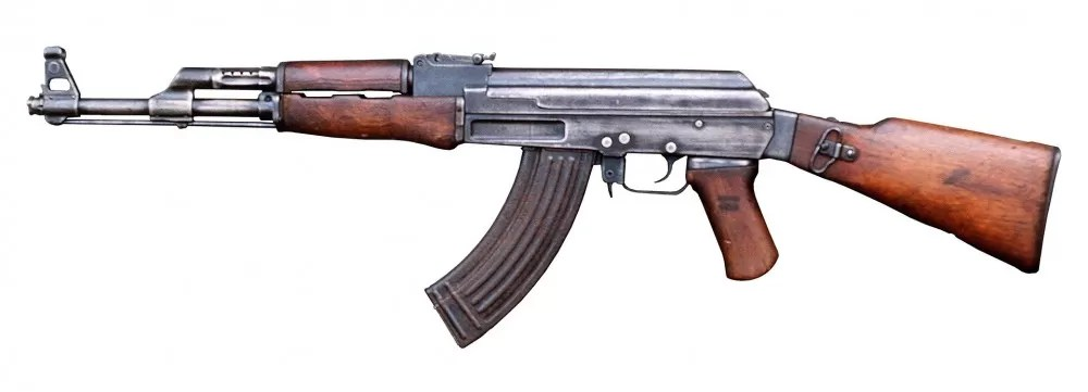The AK-47 has become one of the most famous or even infamous firearms in the world! (Public Domain).