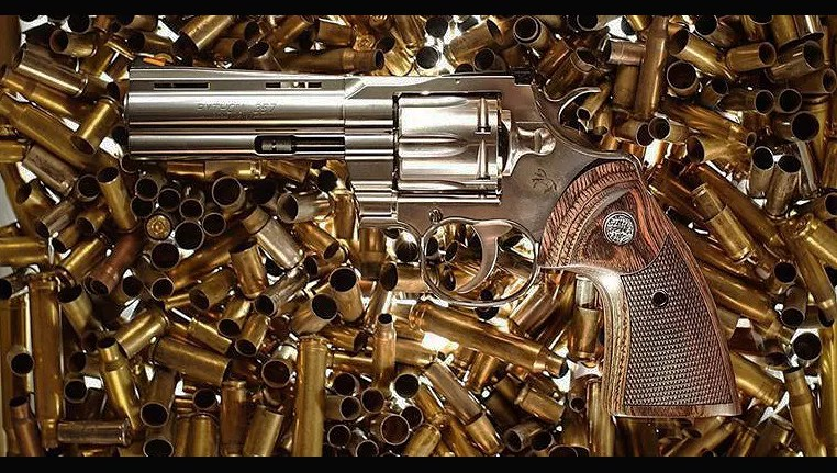 The new double action .357 Colt Python