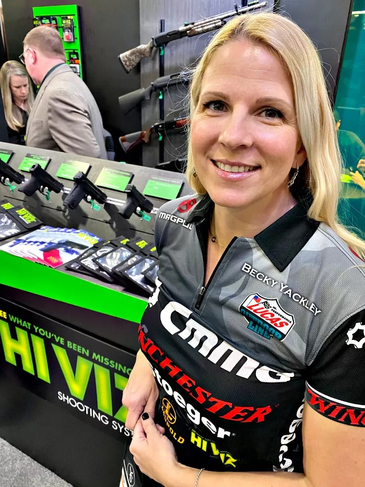 Real Women of SHOT - Becky Yackley - Competitive Shooter.