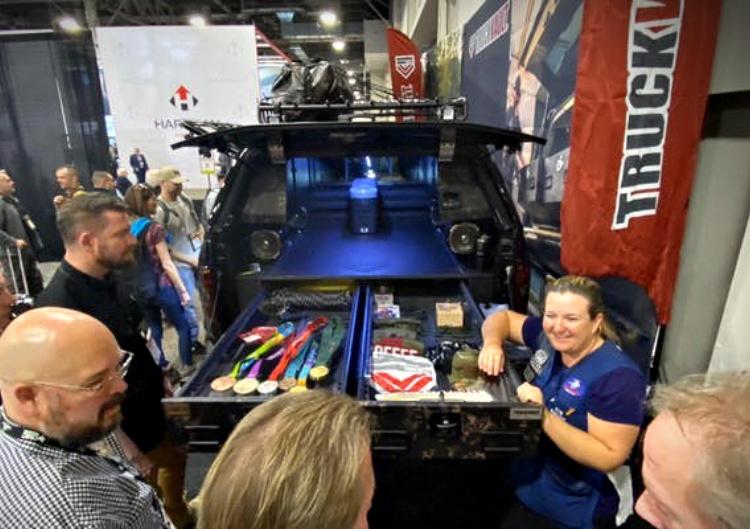 Kim Rhode Double Trap and Skeet Shooter Olympic medal winner, brand ambassador for TruckVault