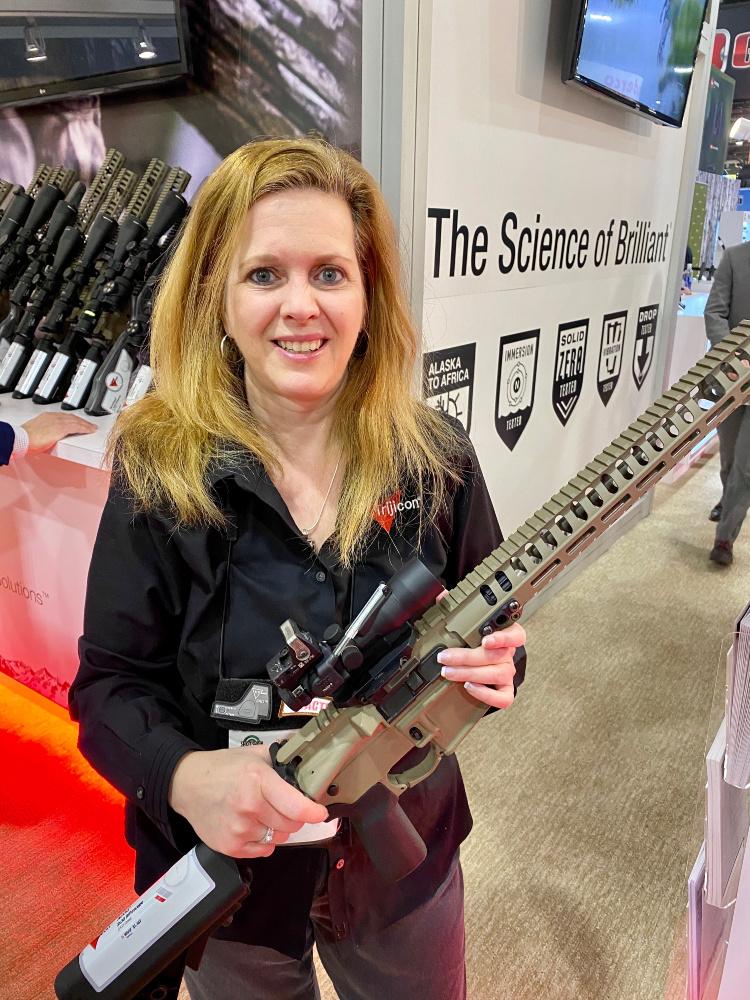 Real Women of SHOT - Susan Belanger - Trijicon.
