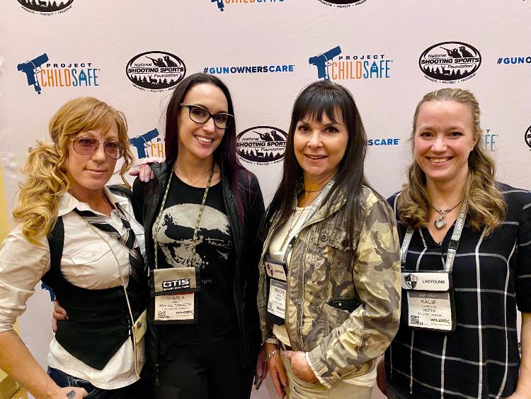 Women of the Gun at SHOT Show 2020.