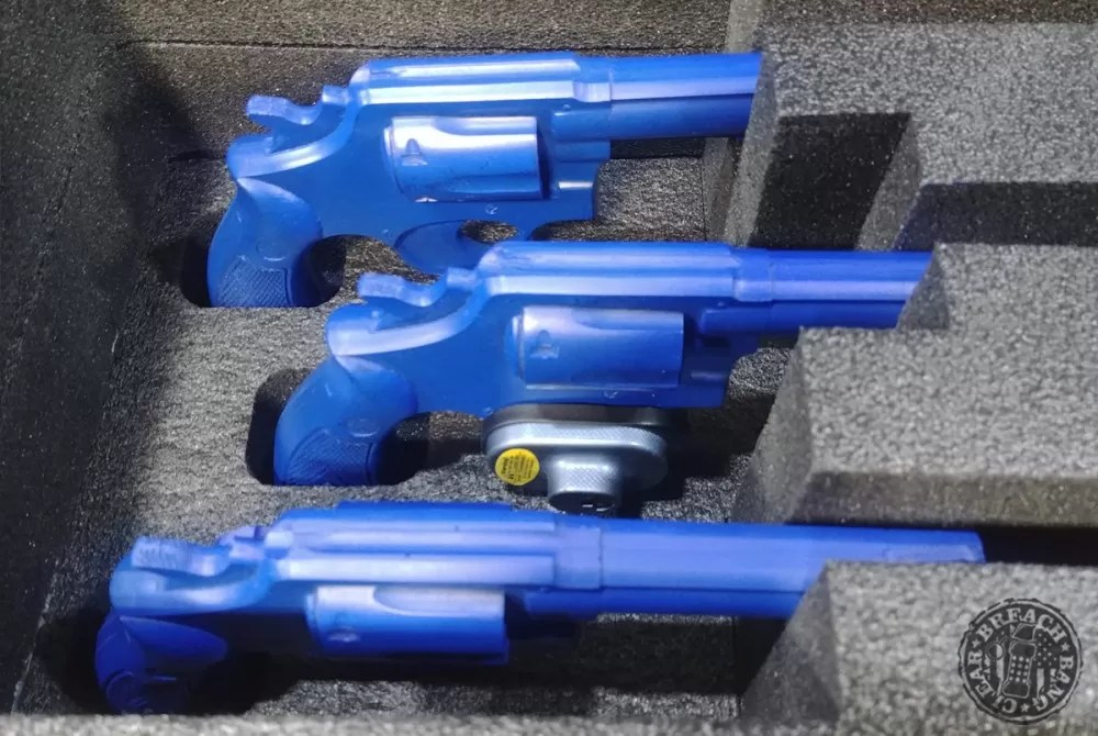 Nanuk 918 3UP Revolver Case Close Up