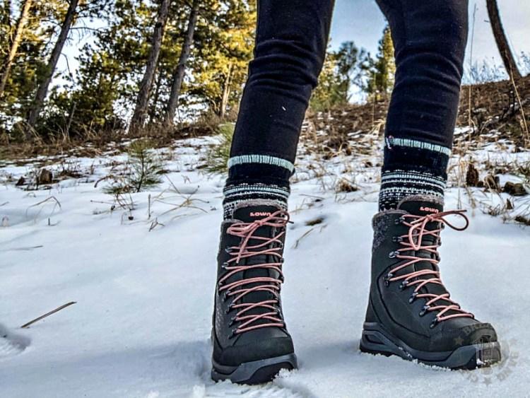 Lowa Winter Hiking Boots: Renegade Evo Ice GTX WS