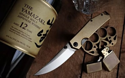 Giantmouse Ace Clyde: New EDC Knife with a Brass Handle