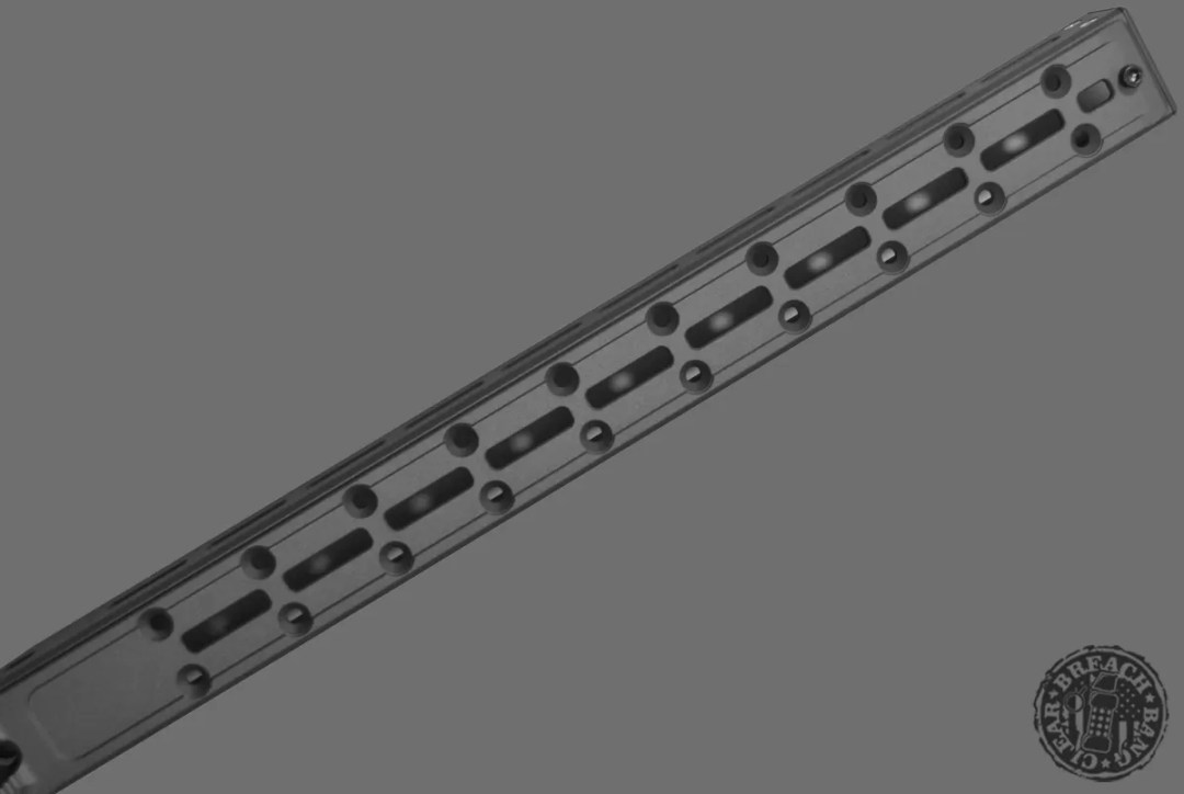 MDT ACC ARCA Rail With M-LOK. Used for The Apologizer build.