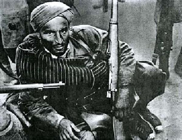Moorish soldier Spanish Civil War