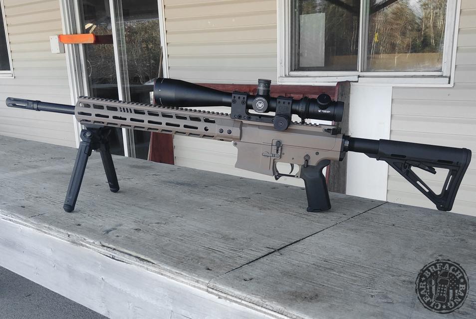 My BCL 102 MK7 at the range.