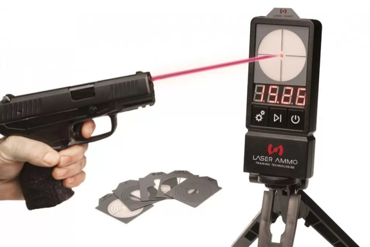The Laser Ammo LaserPET II is something you can get the whole family in on.