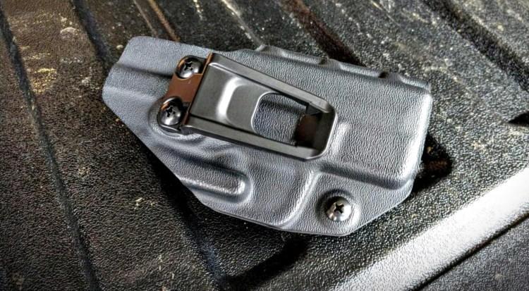 Crucial Concealment Covert IWB Hellcat holster.