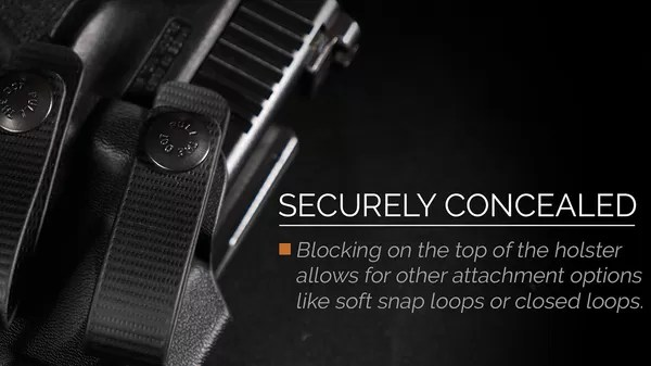 Tenicor holsters are a great concealed carry option.