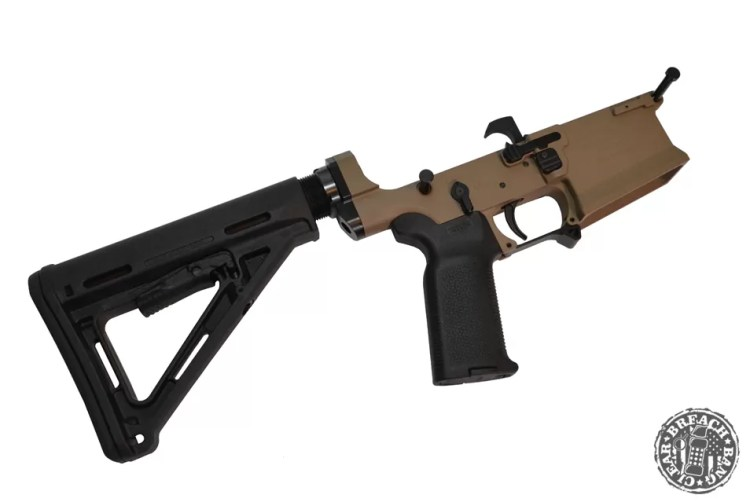The BCL 102 MK7 comes with a CTR stock and MOE K2 grip.